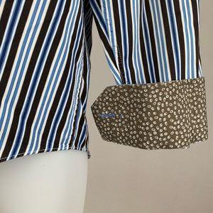 Bugatchi Flip Cuff Shirt
